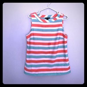 Tommy Sleeveless Blouse (I)